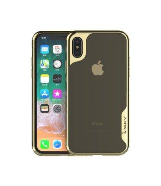 iPaky Hardcase - iPhone X(s) Hoesje - Goud