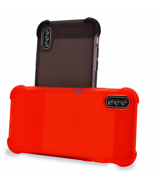 ZWC Anti-Shock - Iphone XR - Donker Transparant - Senimo