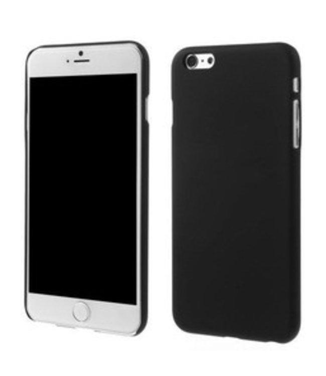 ZWC Rubber Coating Hardcase - iPhone 6(s) plus - Zwart