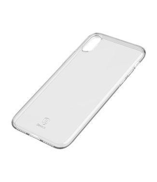 Baseus Softcase - Iphone X/XS Hoesje - Transparant - Baseus