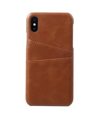 ZWC Leren Hardcase - Iphone X/XS Hoesje - Bruin