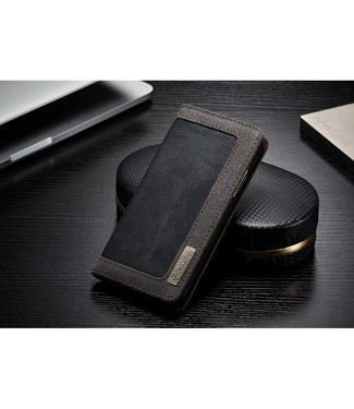Caseme Bookcase - Iphone X/XS Hoesje - Zwart