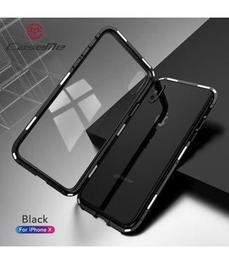 Caseme Magnetische Hardcase - Iphone X Hoesje - Zwart - Caseme