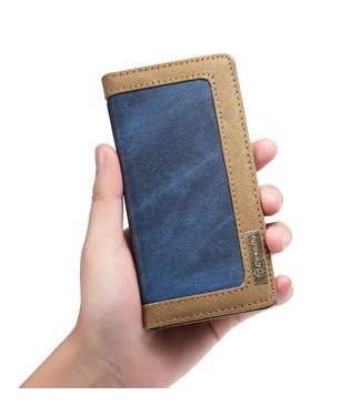 Caseme Bookcase - Iphone XS Max Hoesje - Blauw - Caseme