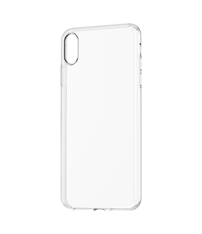Baseus TPU Softcase - Iphone XS Max Hoesje - Transparant - Baseus