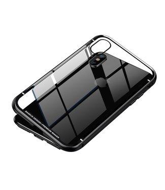 Baseus Magnetische Hardcase - Iphone XS Max Hoesje - Zwart - Baseus