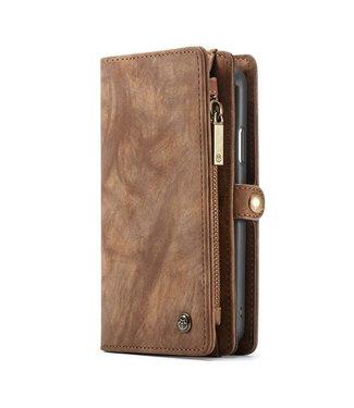 Caseme Multifunctionele Wallet Case - Iphone XS Max Hoesje - Bruin - Caseme