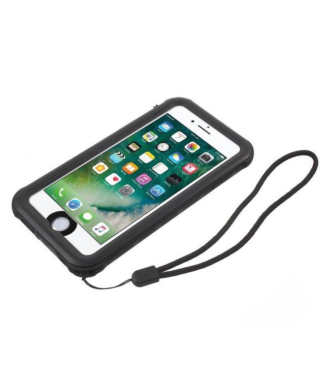 ZWC Waterproef hoes - iPhone 7 PLUS / iPhone 8 PLUS - 2M - Zwart