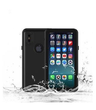 ZWC Waterproof cover voor iPhone Xs - 2M - Zwart