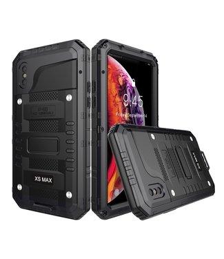 ZWC Zeer robuuste waterproof case - Iphone X/Xs Hoesje - Zwart IP68