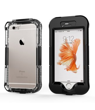 Icarer Waterproof iPhone 6S hoesje - 10M - Zwart
