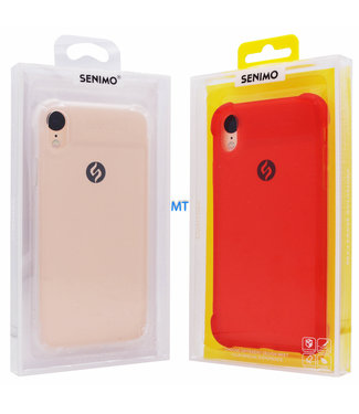 ZWC Anti-shock TPU Softcase iPhone Xr - SENIMO - Rood