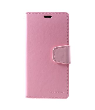 Goospery Zacht roze luxe  bookcase voor iPhone XS max - ROZE - GOOSPERY