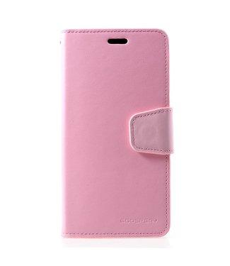 Goospery Zacht roze luxe  bookcase voor iPhone XR - ROZE - GOOSPERY