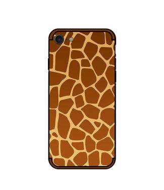 NXE Softcase voor iphone 7/8/SE 2020 met giraf textuur