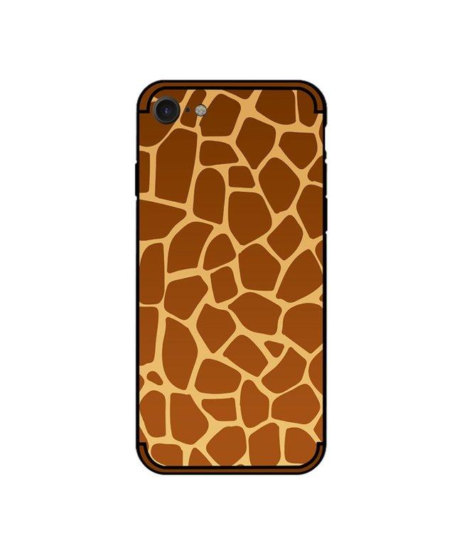 NXE Softcase voor iphone 7 - iphone 8 met giraf textuur