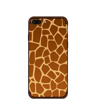 NXE Softcase voor iphone 7 plus - iphone 8 plus met giraf textuur