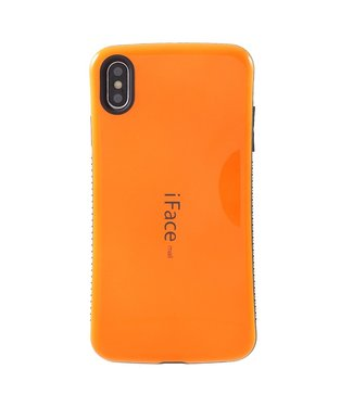 ZWC TPU hybride semi softcase voor iPhone XS Max 6.5 inch - ORANJE - iFace
