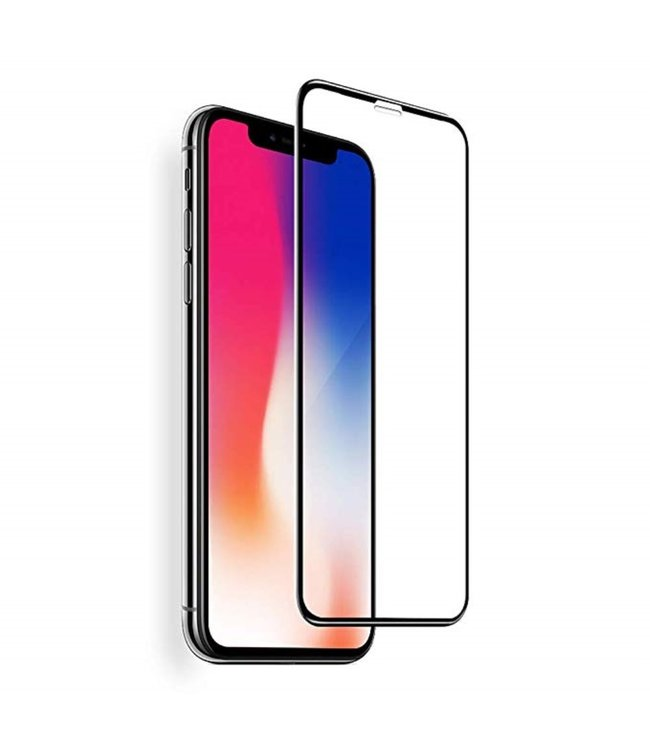 ZWC Anti-Blue-Light - Tempered Glass Screen Protector - Full Screen 0.3mm - iPhone XR 6.1 inch -  Black