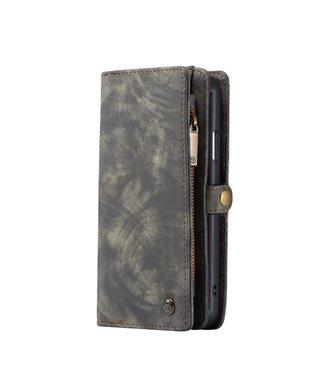 Caseme 2 in 1 Leren Wallet + Case - iPhone 11 6.1 inch - Grijs - Caseme