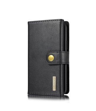 DG-Ming Leren Wallet Case - iPhone 11 Pro 5.8 inch - Retrostijl - Zwart