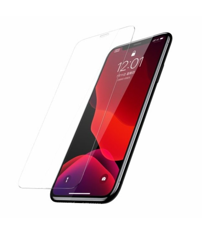 Baseus Baseus Screenprotector - iPhone 11 Pro Max 6.5 inch - Gehard glas 0.15 mm - 2 stuks