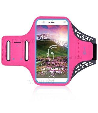 ZWC Sportarmband - iPhone 7 Plus/8 Plus 6/6s Plus - Roze