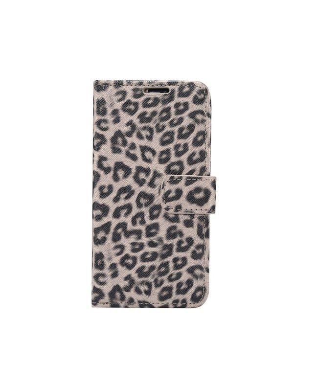 ZWC iPhone cover/portemonnee met luipaardprint voor iPhone 11 Pro 5.8 inch