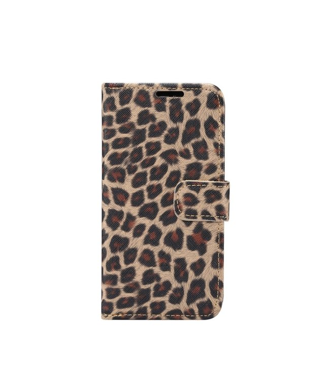 ZWC iPhone cover/portemonnee met luipaardprint voor iPhone 11 Pro Max