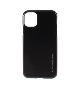 Goospery Flexibele Jelly iPhone cover voor iPhone 11 Pro Max- Zwart