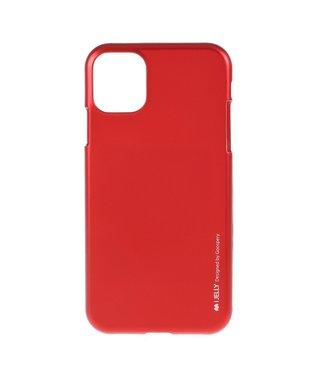 Goospery Flexibele Jelly iPhone cover voor iPhone 11 Pro Max- Rood - Goospery