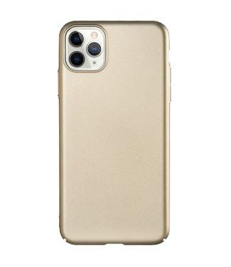 ZWC Hardcase met silky touch voor iPhone 11 Pro 5.8 inch- Goud
