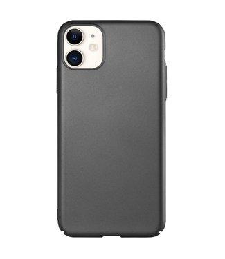 ZWC Hardcase met silky touch voor iPhone 11 6.1 inch - Zwart