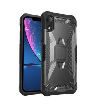 ZWC Moderne en schokbestendige cover voor iPhone XR 6.1 inch - Zwart