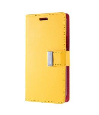 Goospery Bookcase voor iPhone 11 Pro Max - geel