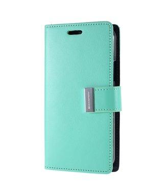 Goospery Bookcase voor iPhone 11 Pro Max - groen