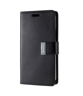 Goospery Bookcase voor iPhone 11 Pro Max - zwart