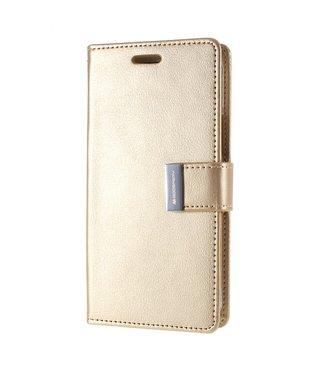 Goospery Bookcase voor iPhone 11 - goud