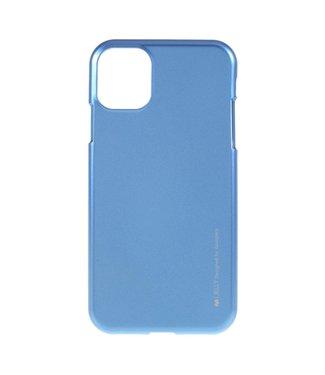 Goospery Flexibele Jelly iPhone cover voor iPhone 11 Pro Max- Blauw