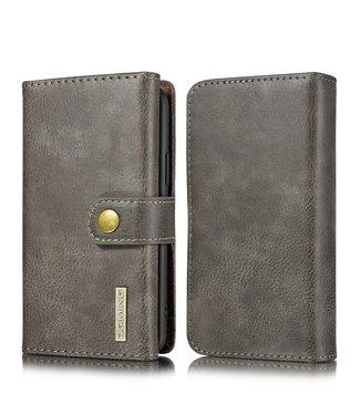 DG-Ming Uitneembare Leren Wallet Case- iPhone 11 Pro- Donkerbruin