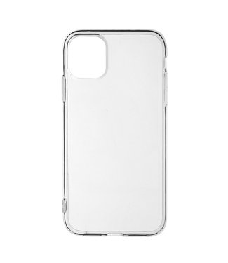 ZWC Transparante Anti-Slip cover voor iPhone 11 6.1 inch - Transparant