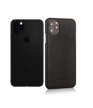 Pierre Cardin Lederen cover voor iPhone 11 Pro Max 6.5 inch - Zwart - Pierre Cardin