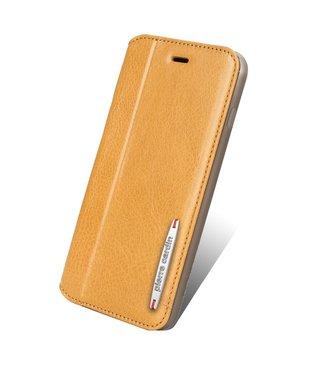 Pierre Cardin Lederen bookcase van Pierre Cardin voor iPhone 7/8 plus - bruin