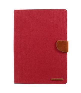 Goospery Hoes voor iPad 9.7 inch  (model 2017 en 2018) - rood