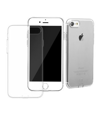 Baseus Transparante softcase voor iPhone 7/8/ SE 2020 - transparant