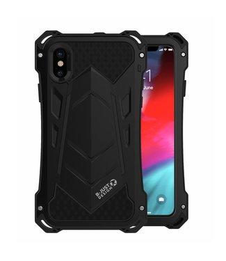 ZWC Waterbestendige en extra beschermende hardcase voor iPhone X/XS - zwart