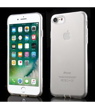 ZWC KingXbar dunne softcase voor iPhone 7/8/SE 2020 - transparant
