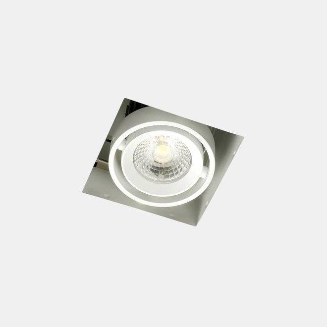 Trimless recessed LED spot BLEND white single