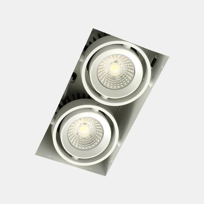 Trimless inbouw LED spot BLEND wit dubbel
