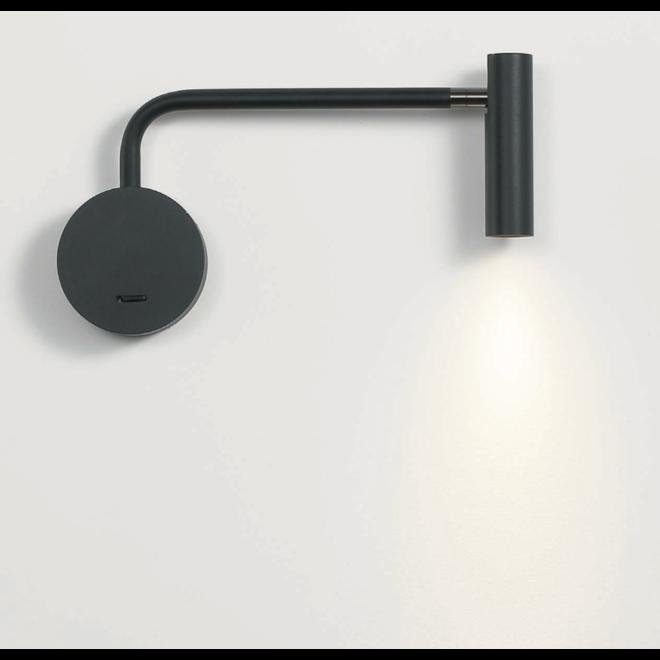 LED ARM reading lamp - black